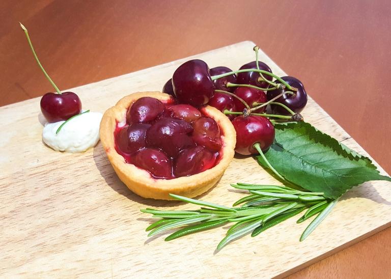 Crostatina Ciliegie Ricotta